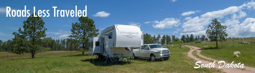 South Dakota RV trip and camping travel