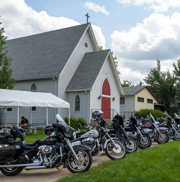 Church of the Spoke and Wheel Sturgis Motorcycle Rally South Dakota