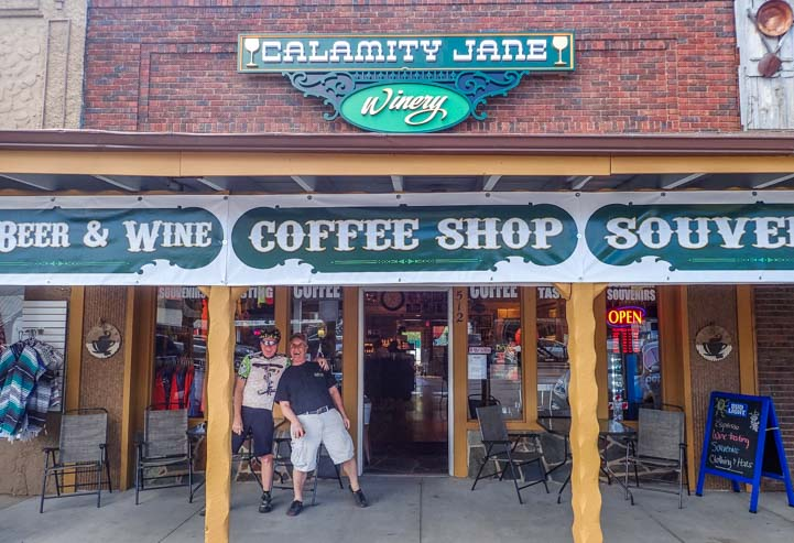 Calamity Jane Wine Bar and Coffee Shop South Dakota