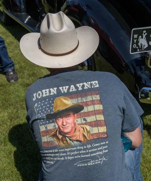 John Wayne T-shirt Buffalo Wyoming
