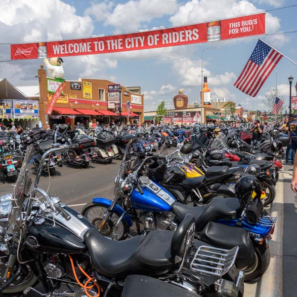 Welcome Bikers Sturgis Motorcycle Rally South Dakota