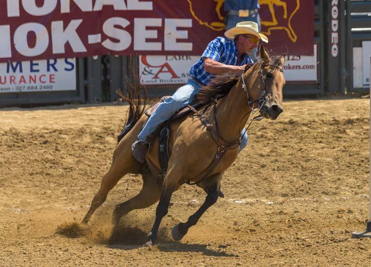 Johnson County Fairgrounds Rodeo Buffalo Wyoming