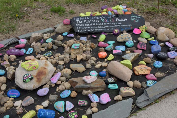 Kindness Rock Project Custer South Dakota