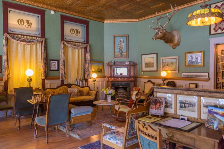 Occidental Hotel Interior Buffalo Wyoming