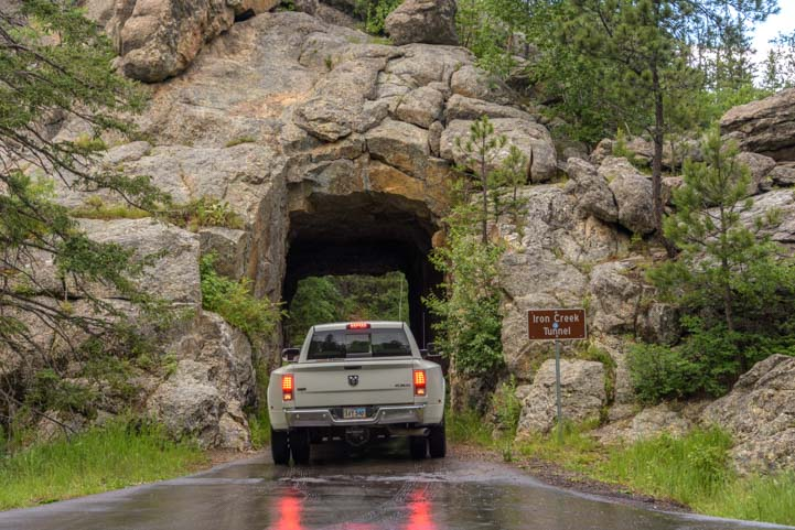 Iron Creek Tunnel Custer State Park South Dakota