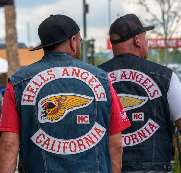 Hells Angels California Sturgis Motorcycle Rally South Dakota