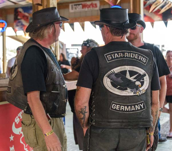 German visitors Sturgis Motorcycle Rally South Dakota