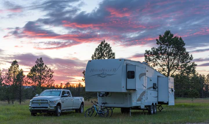 RV trip to Custer South Dakota