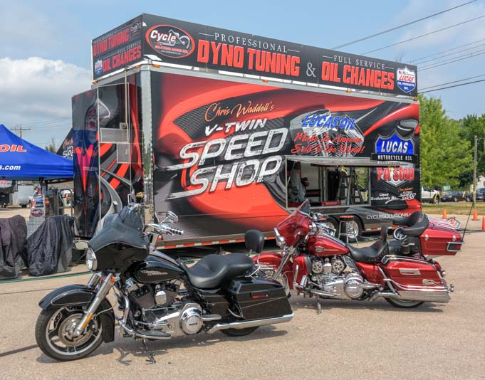 Motorcycle speed shop Sturgis Motorcycle Rally South Dakota