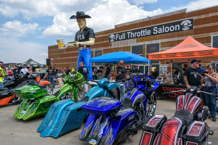 Full Throttle Saloon Sturgis Motorcycle Rally South Dakota