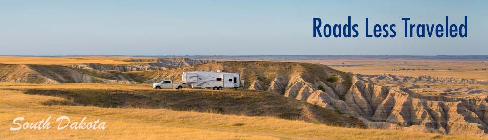 South Dakota RV travel and camping adventure trips
