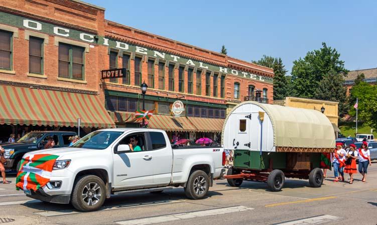 Basque wagon Basque Festival Buffalo Wyoming