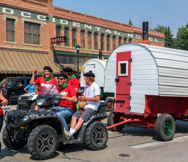 Basque Festival Buffalo Wyoming Basque wagon