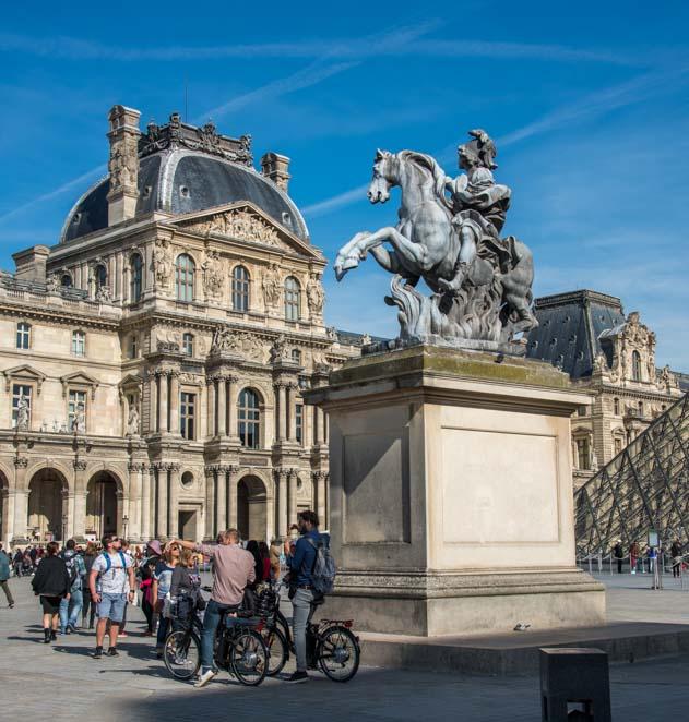 Louis XIV Statue Louvre Museum Paris