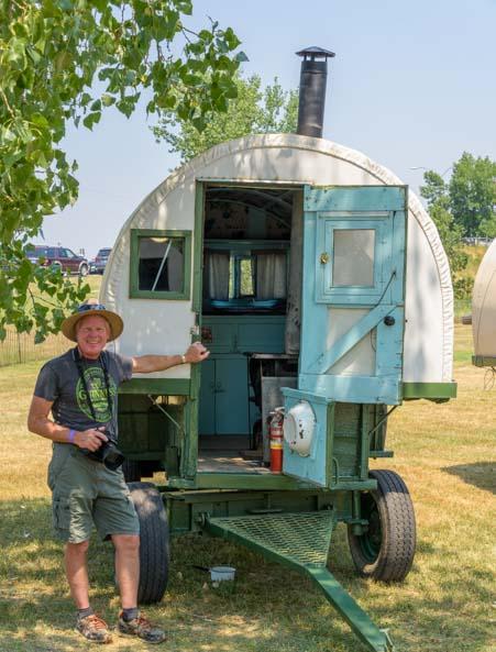 Basque wagon display Buffalo Wyoming