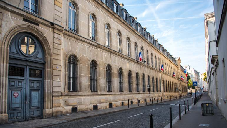 Consulate building Paris