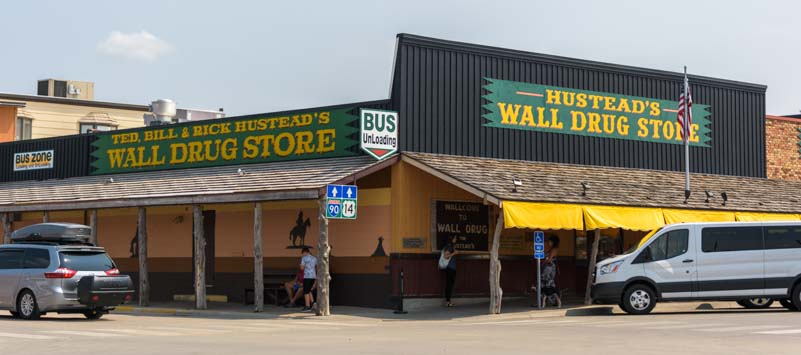 Wall Drug in Wall South Dakota