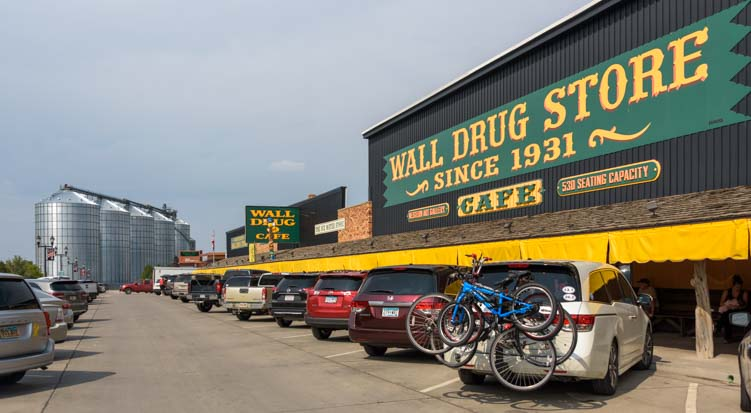 Wall Drug Store in Wall South Dakota
