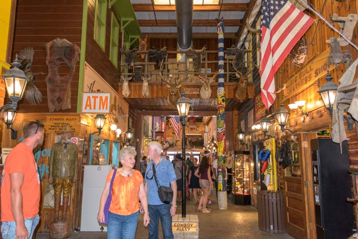 Inside Wall Drug Store and mall Wall South Dakota