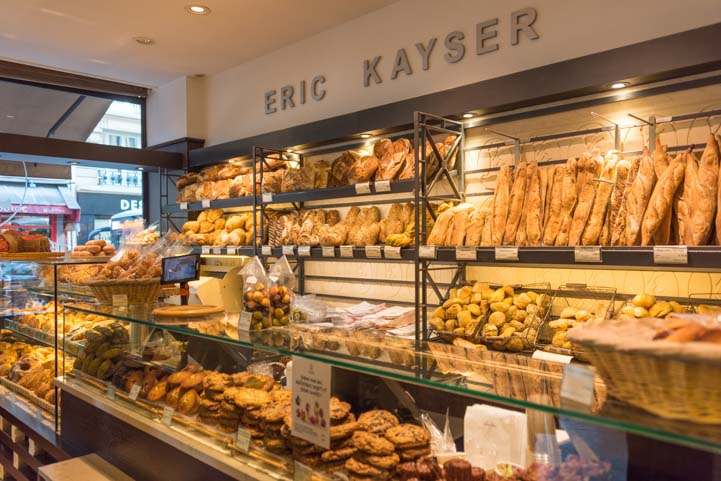 Inside a boulangerie in Paris