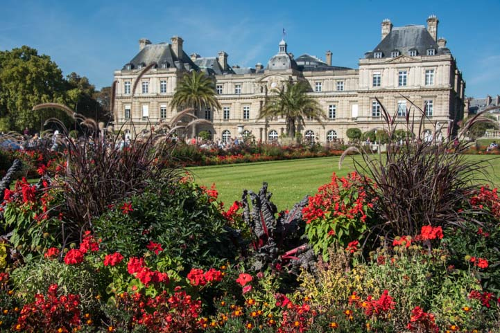 Luxembourg Garden Paris France