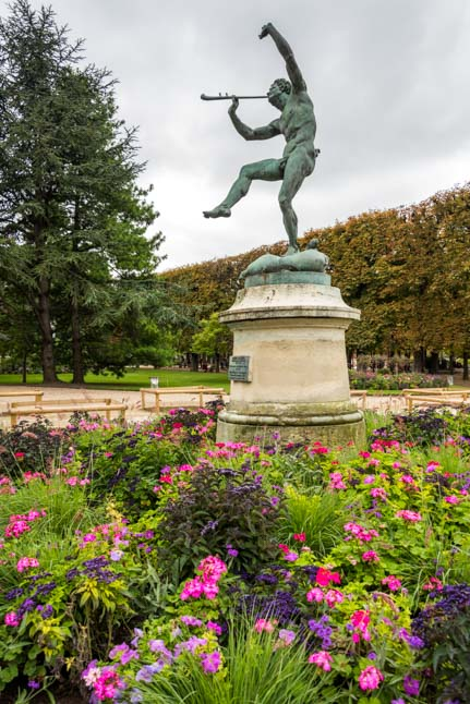 Statue in the Luxembourg Gardens Paris