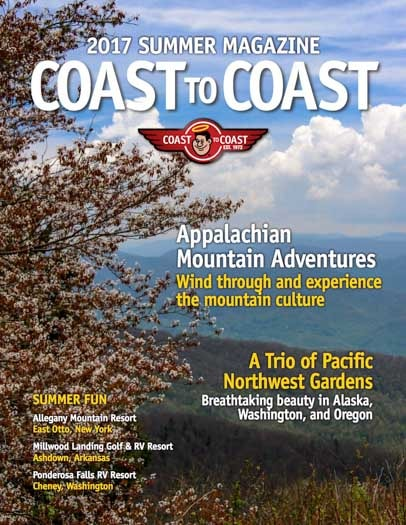 Appalachian Mountains RV Trip Coast to Coast Magazine Summer 2017-min