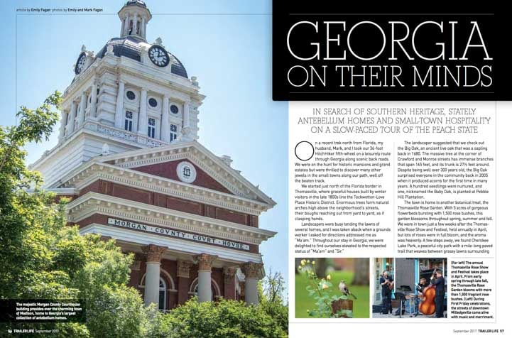 Georgia On Their Minds Trailer Life Magazine September 2017-min
