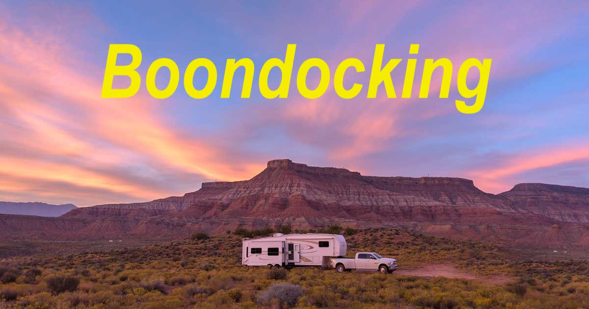 d6f0d9833 Boondocking (