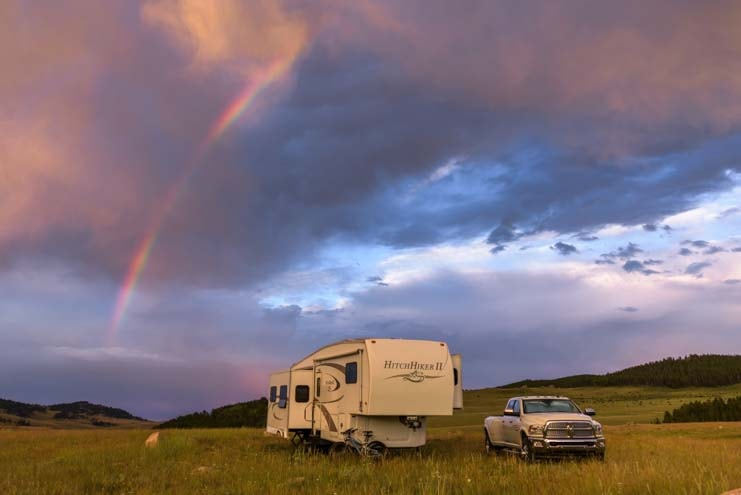 Boondocking in an RV-min