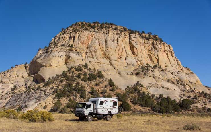 Unusual RV near Kanab Utah-min