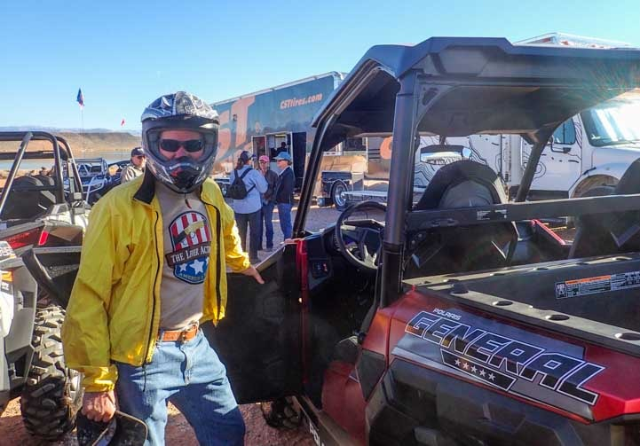 Polaris General test ride Sand Hollow State Park Utah-min