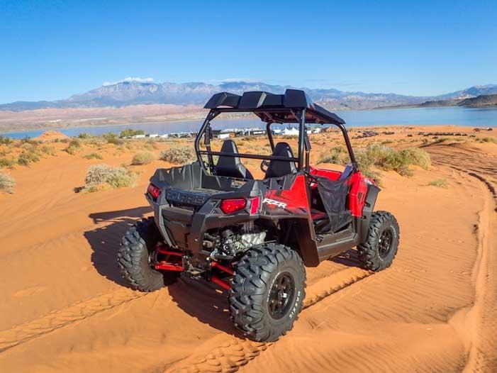Polaris RZR 570 Sand Hollow State Park Utah-min