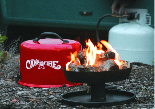Little Red Campfire propane portable-min