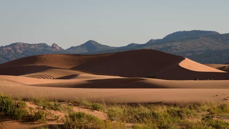 Coral Pink Sand Dunes State Park Utah RV trip-min