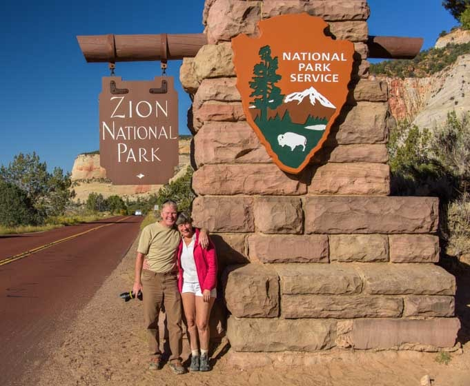 Welcome to Zion National Park Utah-min