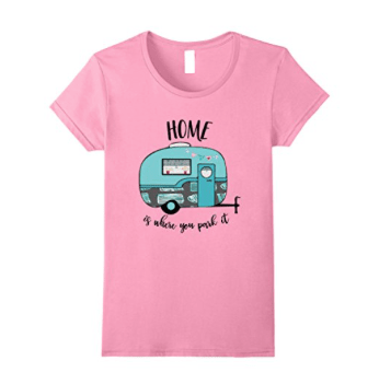 t-shirt - home is where you park it for women-min