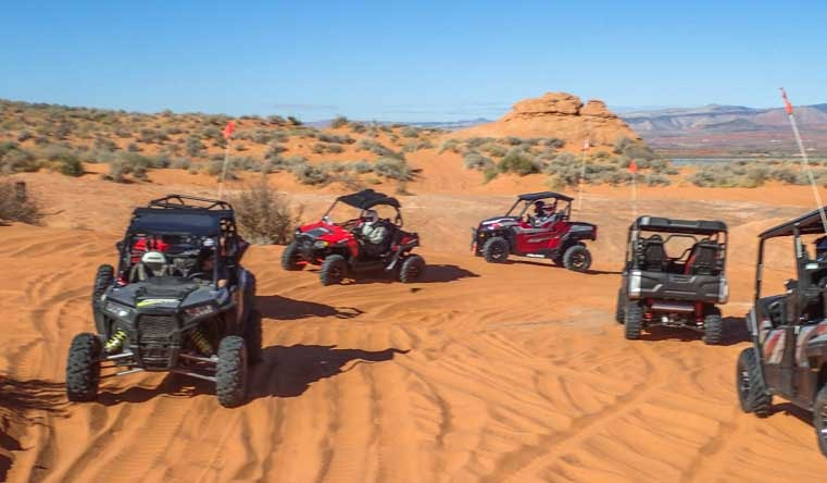 Sand Hollow Jamboree of side-by-side UTV models-min