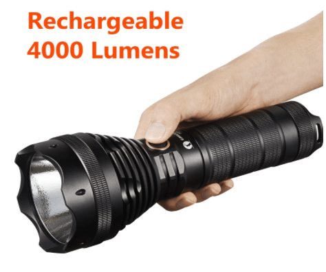 Lumintop 4000 lumen tactical flashlight-min