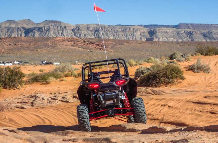 Rugged rock climber Polaris RZR 1000 4-seater-min