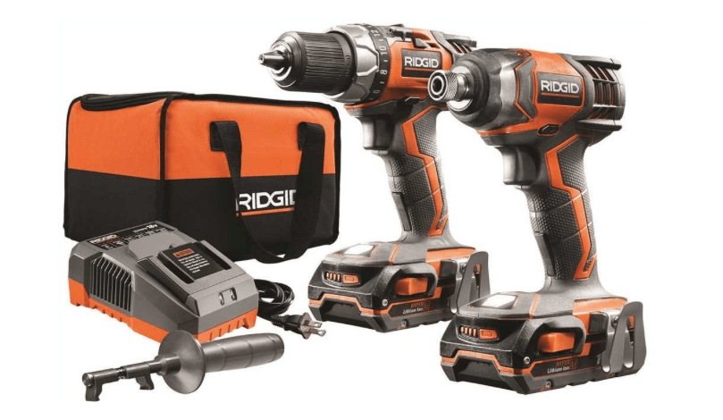 Rigid Cordless Drill and Impact Driver Kit-min