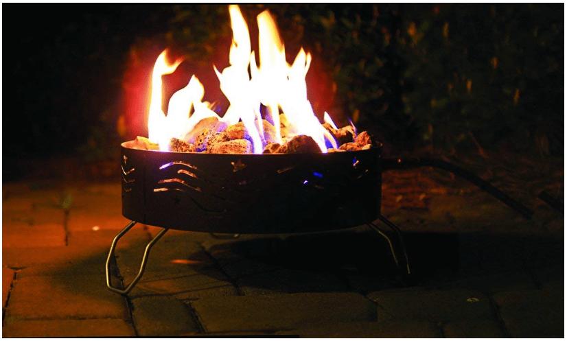 Camco Portable Propane Campfire