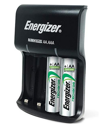 Energizer Rechargeable battery kit