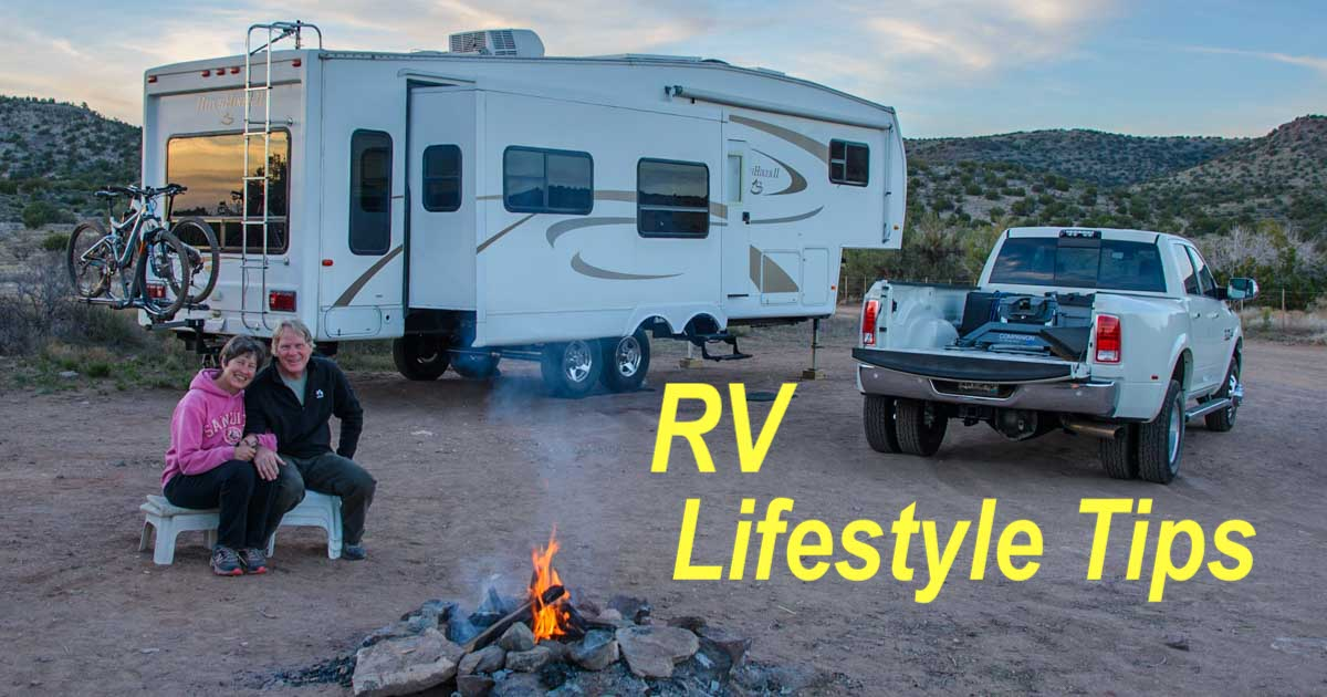 RV Lifestyle Tips: Costs, RV Repairs, Living Off the Grid, Workamping & More!
