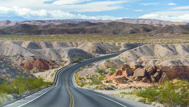 Lake Mead Nevada RV scenic drive-min