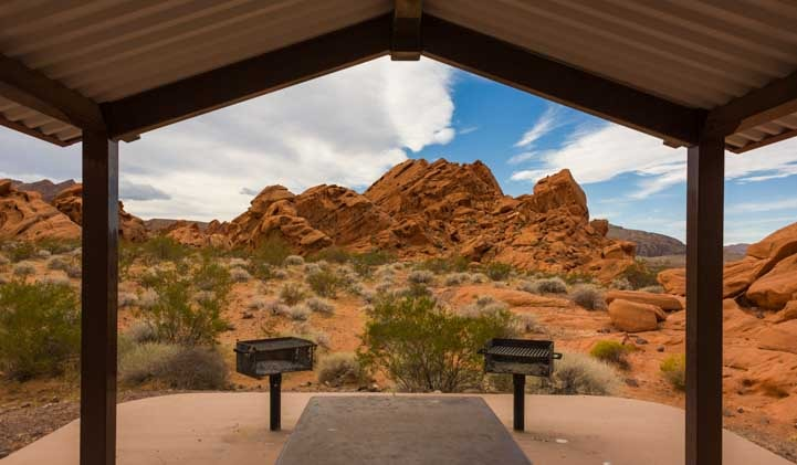 Redstone Trail picnic area Lake Mead Nevada RV trip-min