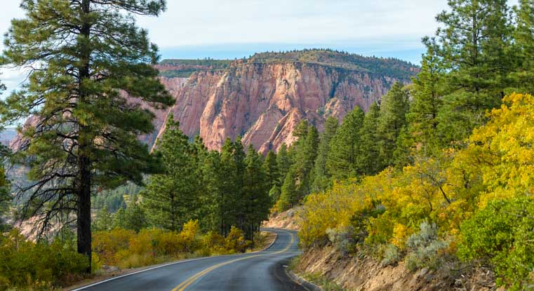 Kolob Canyons Zion National Park Utah-min