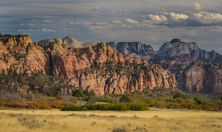 Kolob Canyons View Zion National Park Utah-min