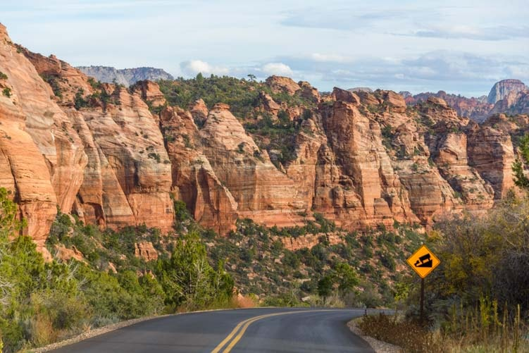 Kolob Canyons Road Zion National Park Utah-min