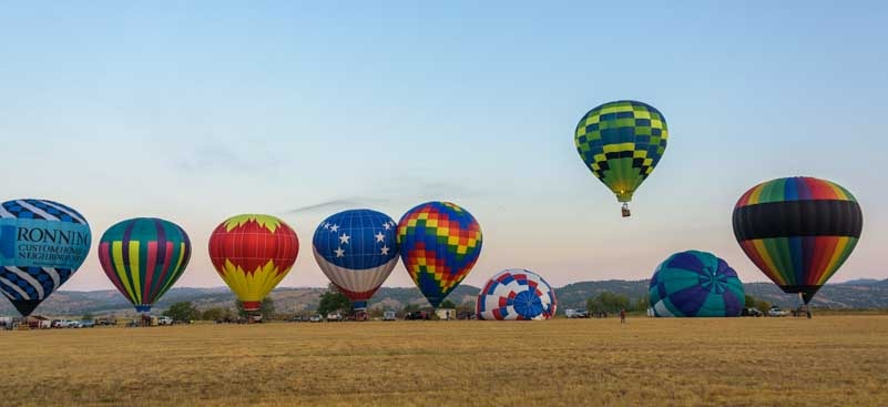 Fall River Balloon Festival Hot Springs South Dakota-min